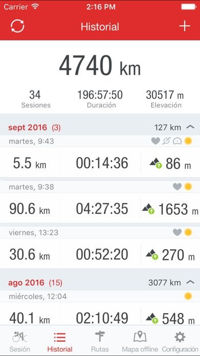 Runtastic Road Bike GPS Cycling & Ride Tracker - Download