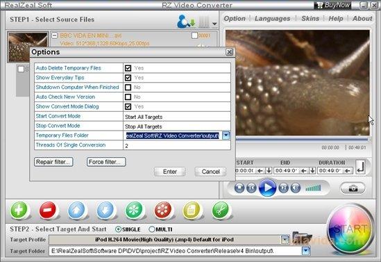RZ Video Converter image 4