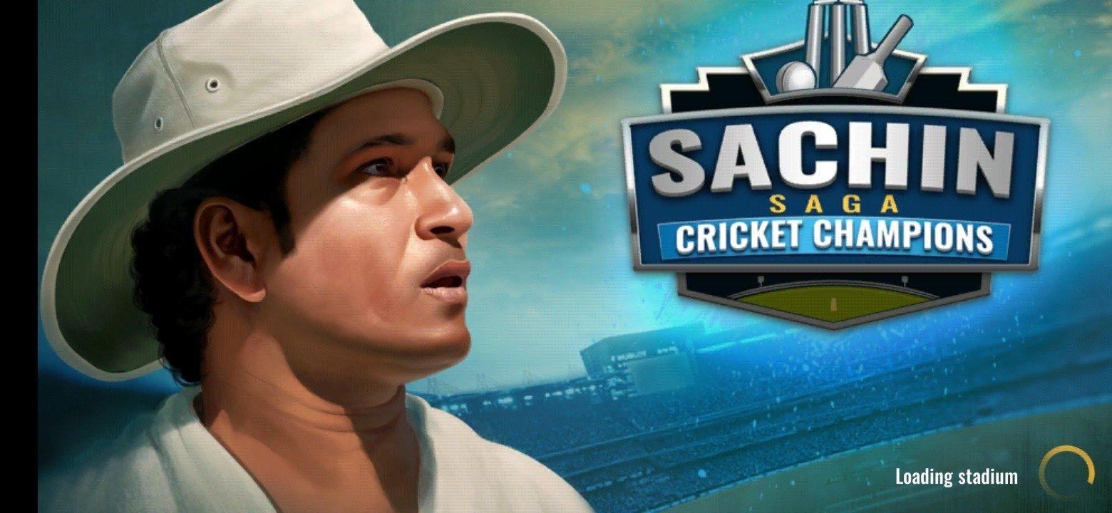 Sachin Saga Cricket Game