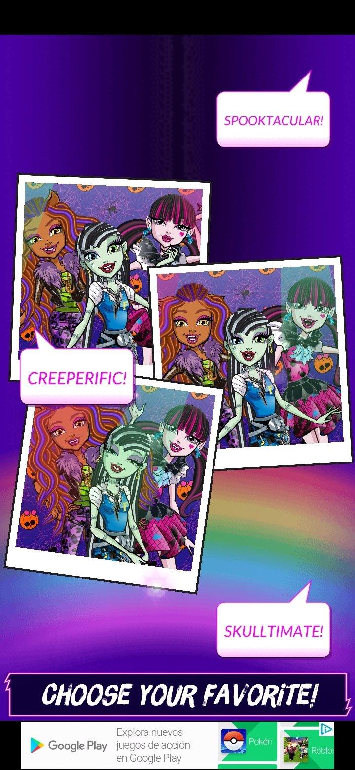 Monster High Beauty Shop Fangtastic Fashion Game 1 1 9