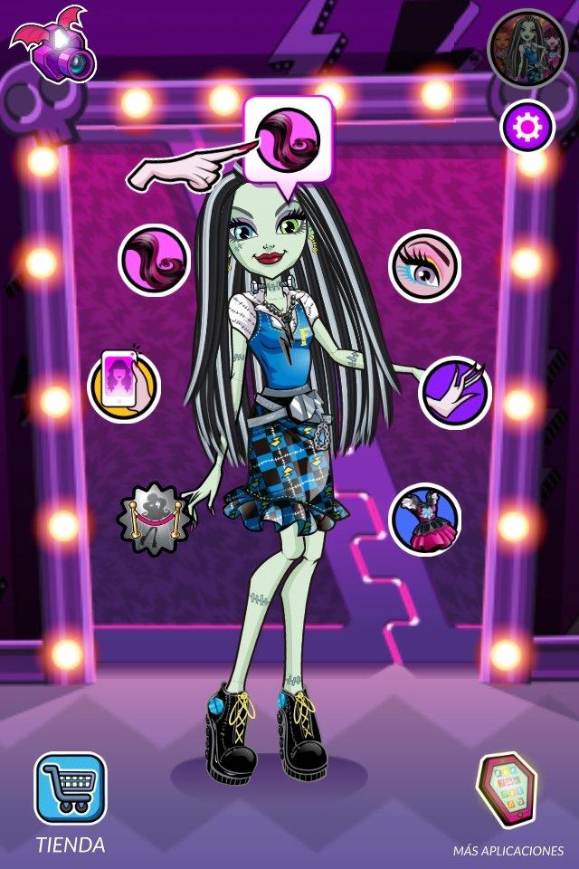 Monster High Schönheitssalon 2.9 - Download für iPhone Kostenlos