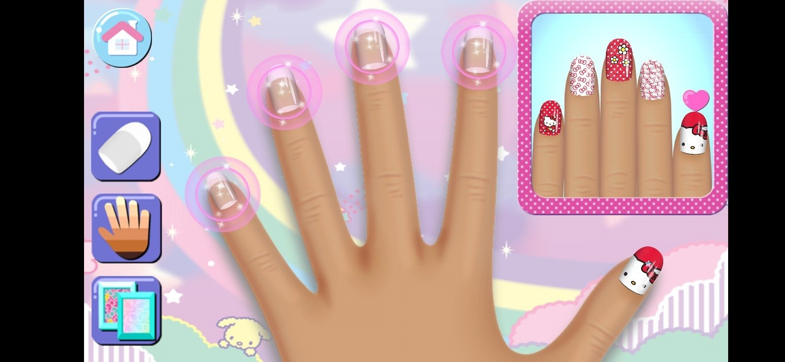 Hello Kitty Nail Salon 5.55 - Download for Android APK Free