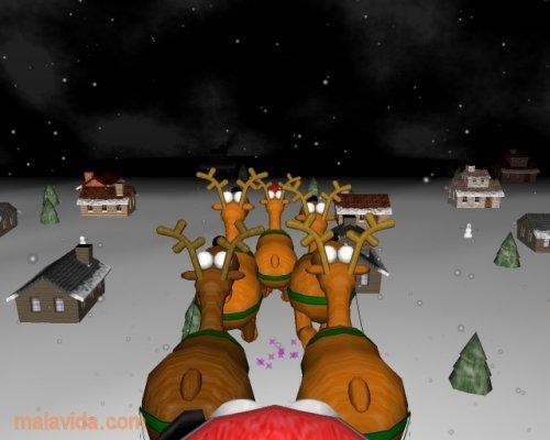 A very 3D Christmas Screensaver