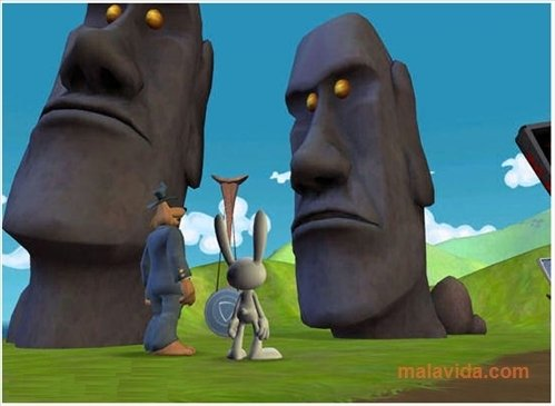 Sam & Max: Moai Better Blues image 5
