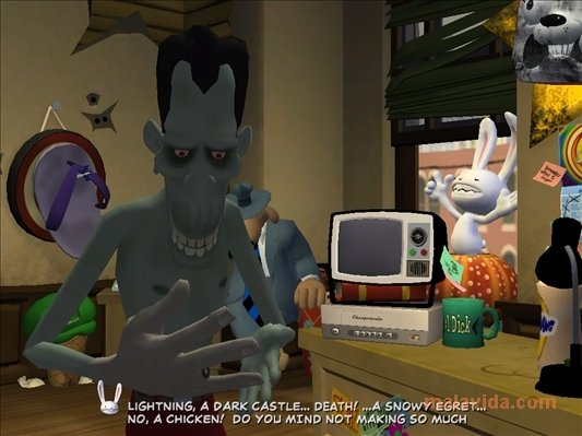 Sam & Max: Night of the Raving Dead image 5