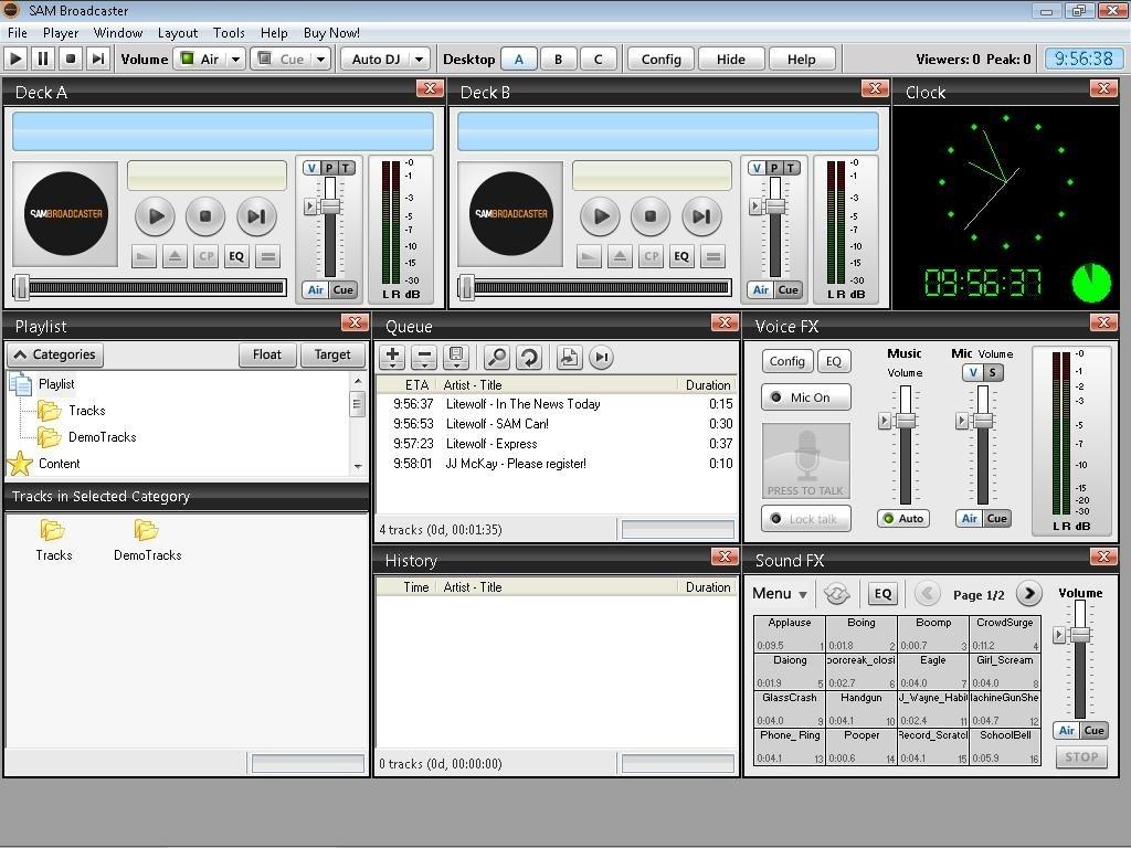 SAM Broadcaster image 7