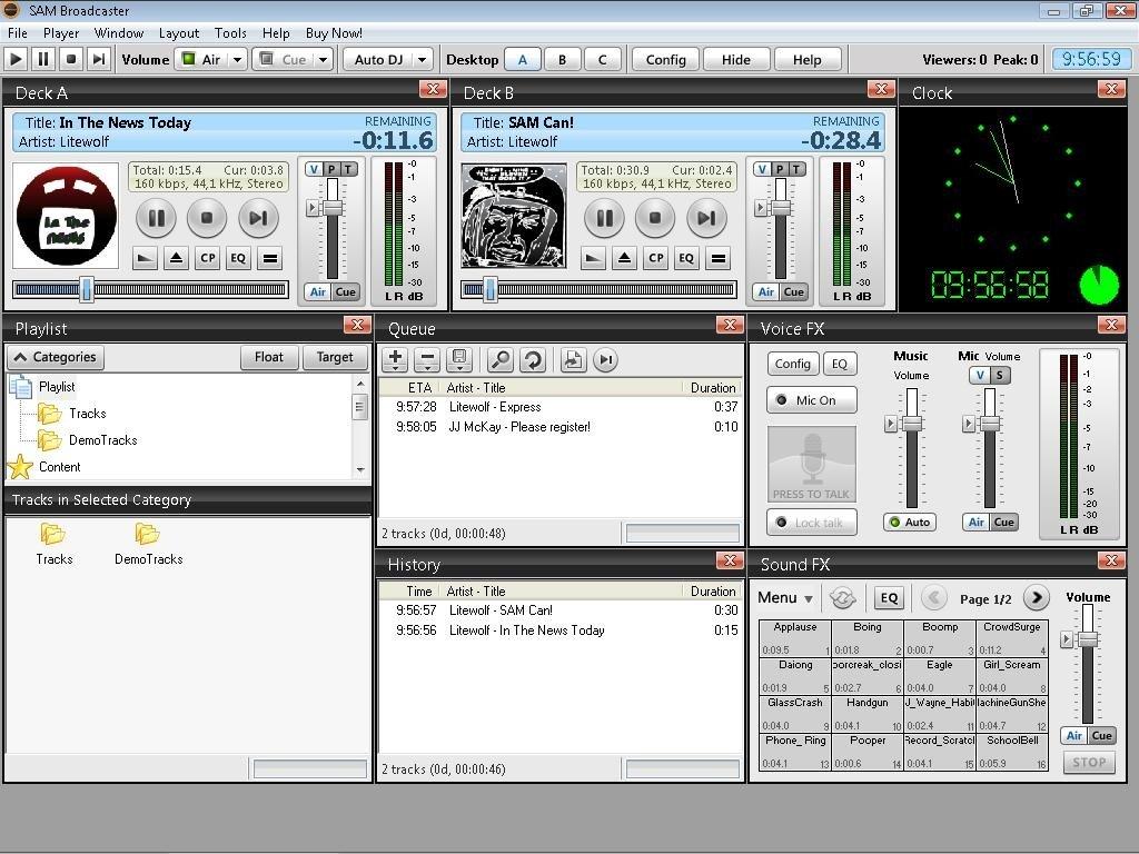 SAM Broadcaster v2013 6 - Download for PC Free