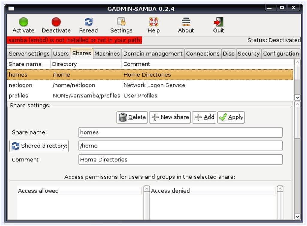 Samba 4 9 4 - Download for Linux Free
