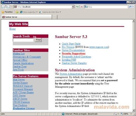 Sambar Server 7 0 - Download for PC Free