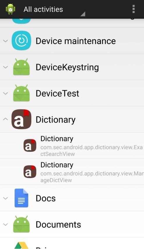 Samsung Dictionary