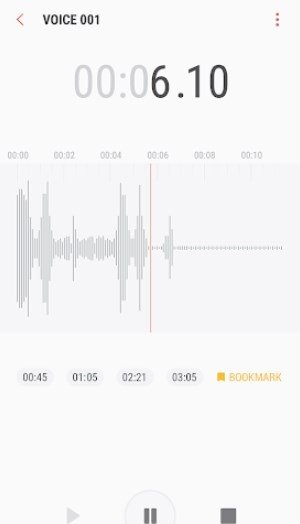 Samsung Voice Recorder 20 1 86 12 - Download for Android