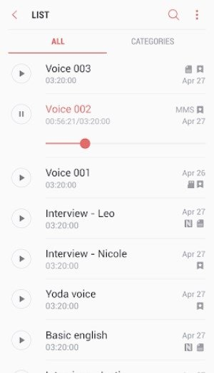 Samsung Voice Recorder 20 1 86 12 - Download for Android APK Free