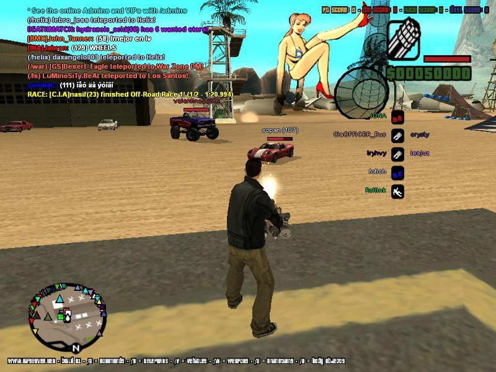 Mods Grand Theft Auto : San Andreas à télécharger