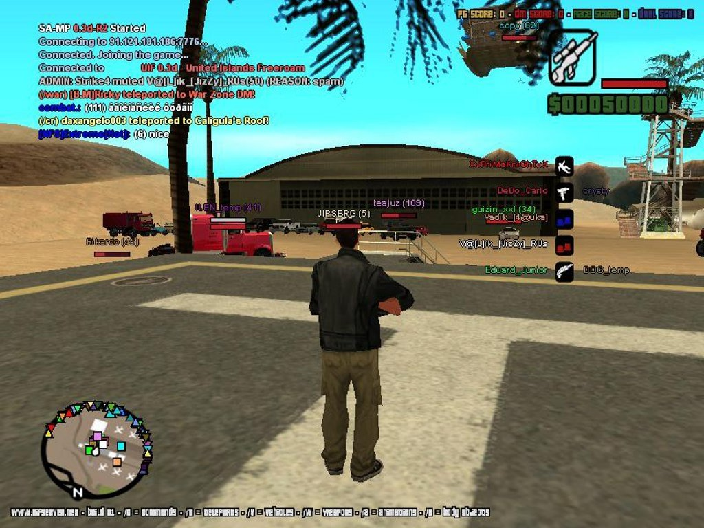 Download San Andreas Multiplayer 0.3.7 for PC - Free