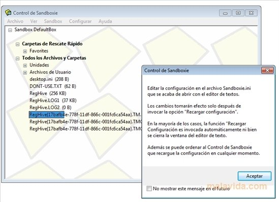 Sandboxie 5 26 - Download for PC Free