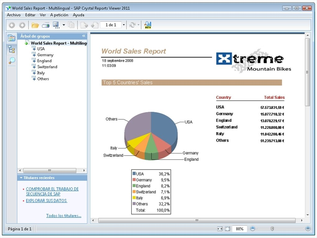 Download SAP Crystal Reports Viewer free