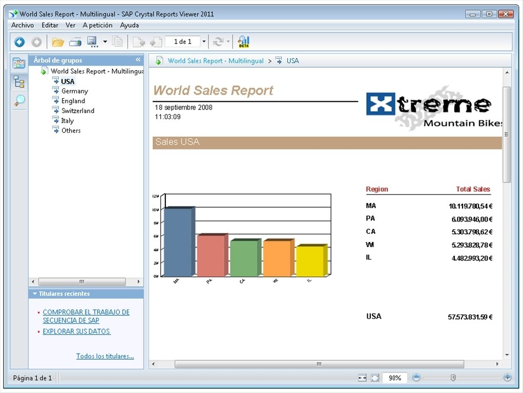 SAP Crystal Reports Viewer 2016 - Download for PC Free