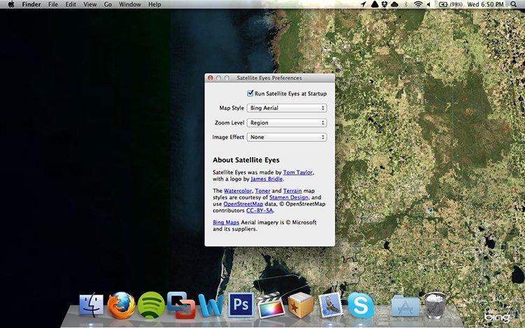 Satellite Eyes Mac image 2