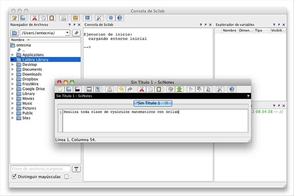 Scilab Mac image 6