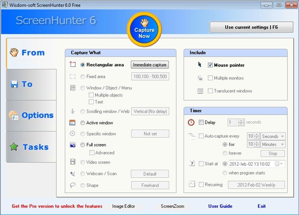 screenhunter freeware