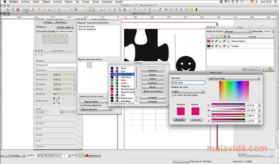 Scribus Mac image 5