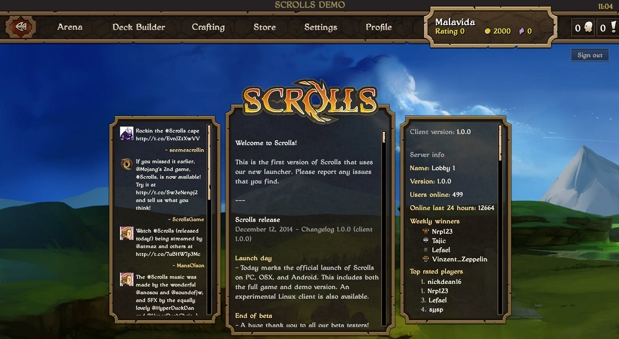 Scrolls Mac image 5