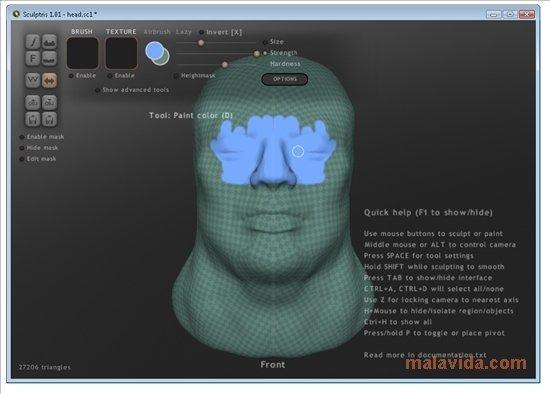 Sculptris Alpha 6 - Download for PC Free