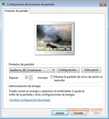 Seastorm 3d screensaver download for windows 8. 1 64bit free.