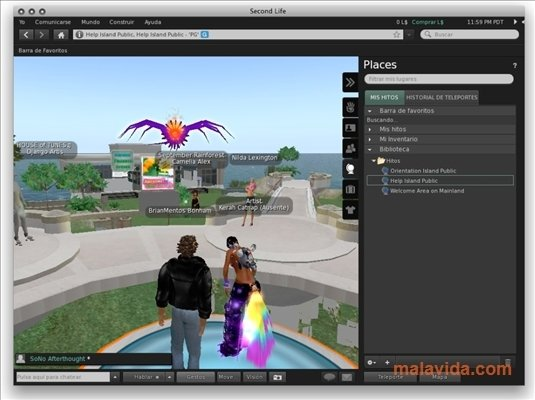 Second Life 6 2 0 526190 - Download for Mac Free