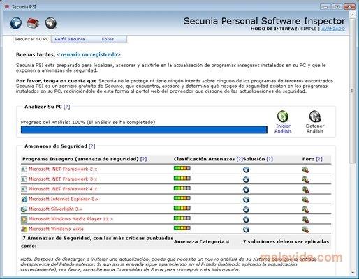 Secunia PSI image 5