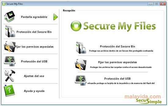 Secure My Files image 4
