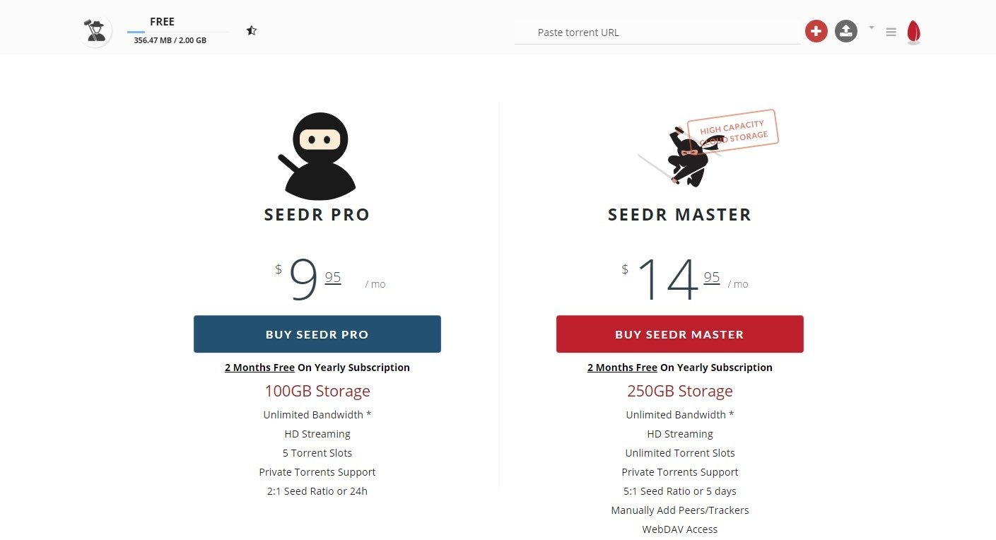 Seedr Online (English) - Free