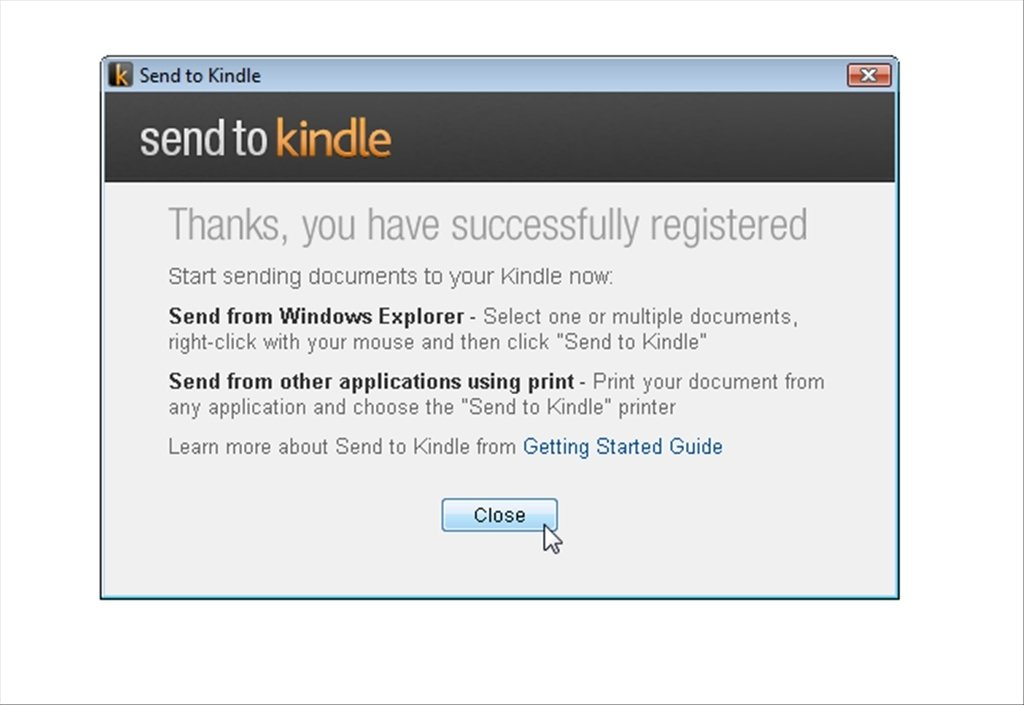 Send to Kindle 1 1 0 246 - Download for PC Free