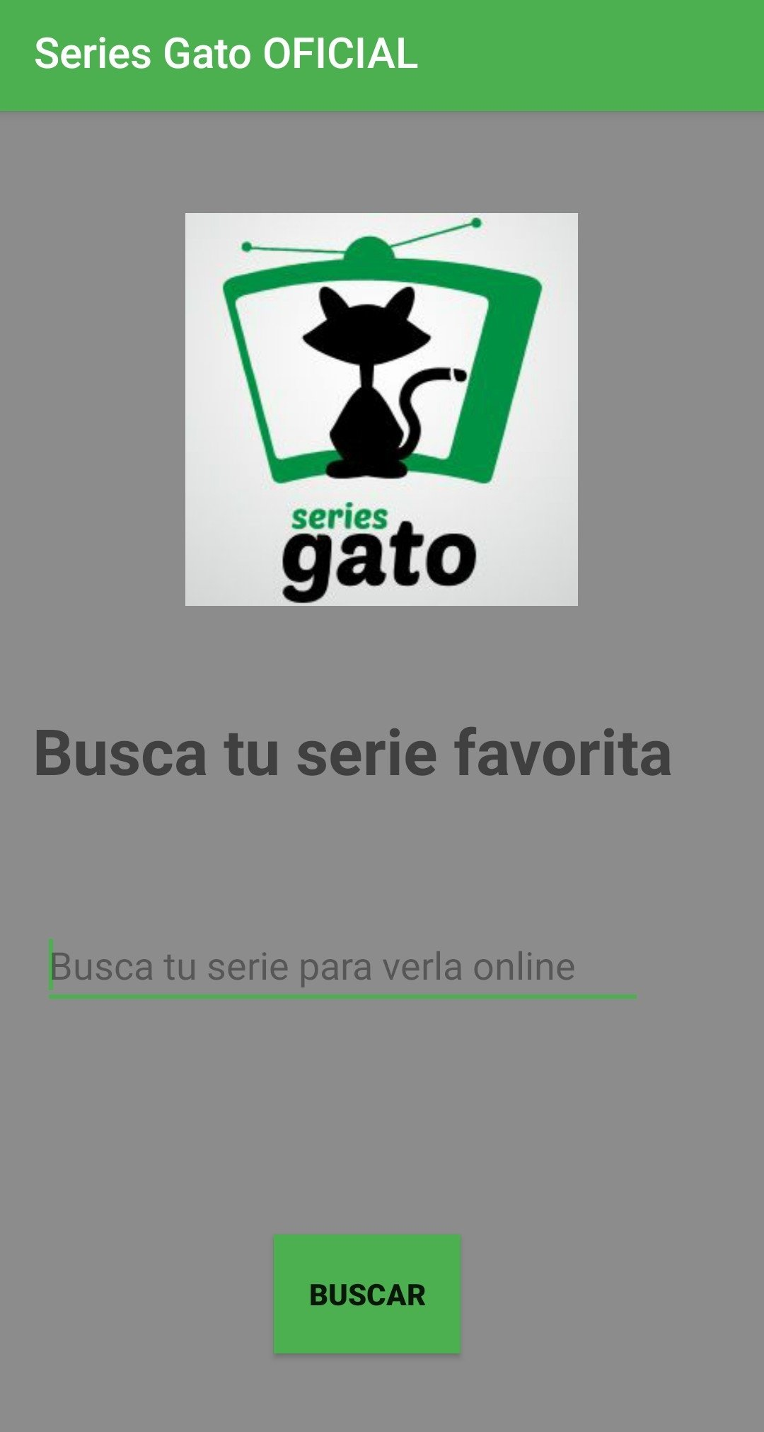 Series Gato 1.0 - Descargar para Android APK Gratis