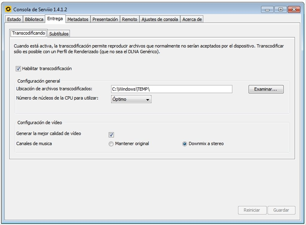 serviio pour windows 10