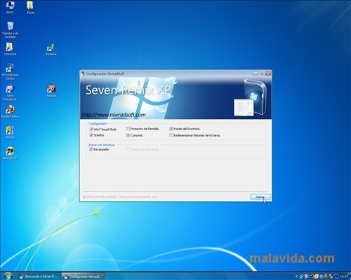 Seven Remix XP 4 0 - Download for PC Free