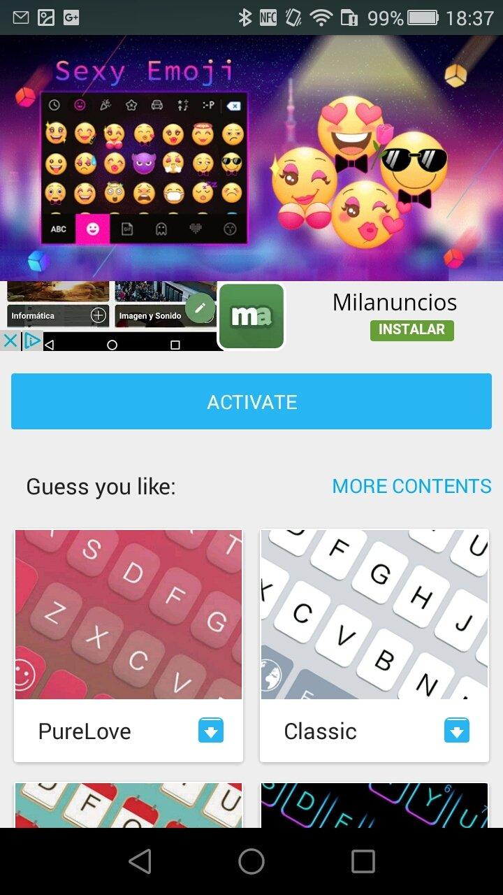 Sexy Emoji for Kika Keyboard Android image 2
