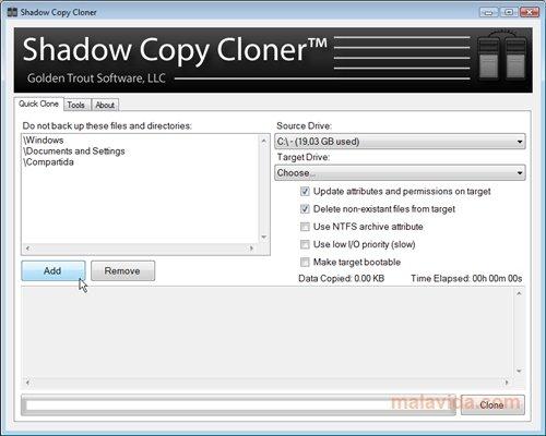 Shadow Copy Cloner image 4