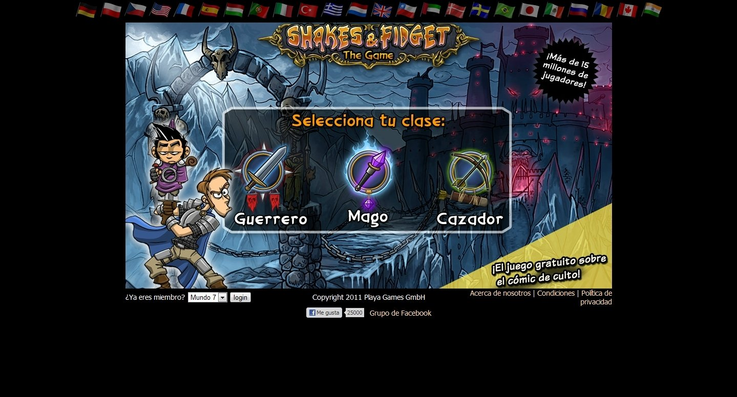 Shakes and Fidget Webapps image 5