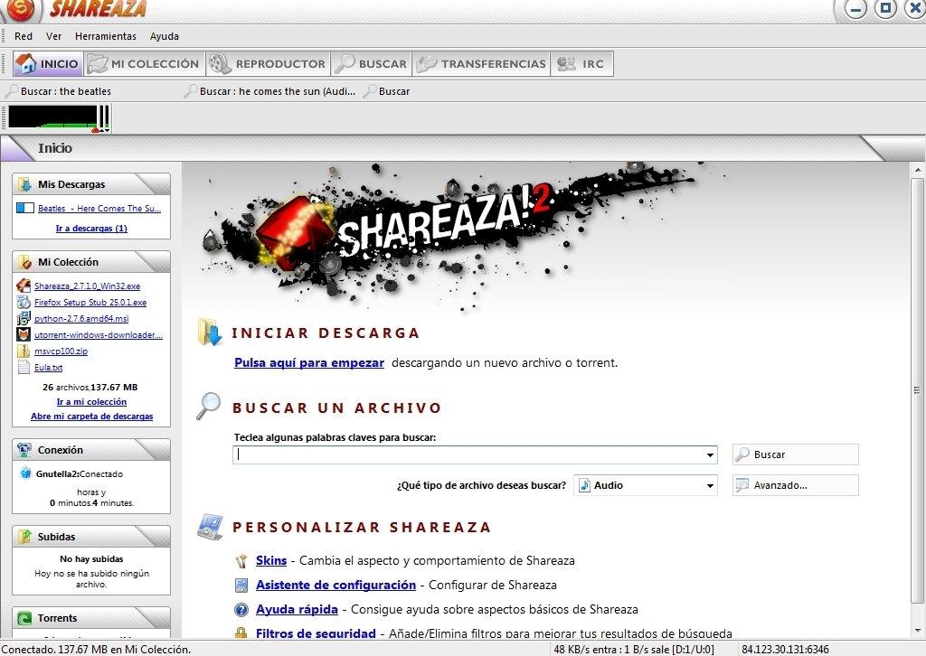 programa shareaza gratis