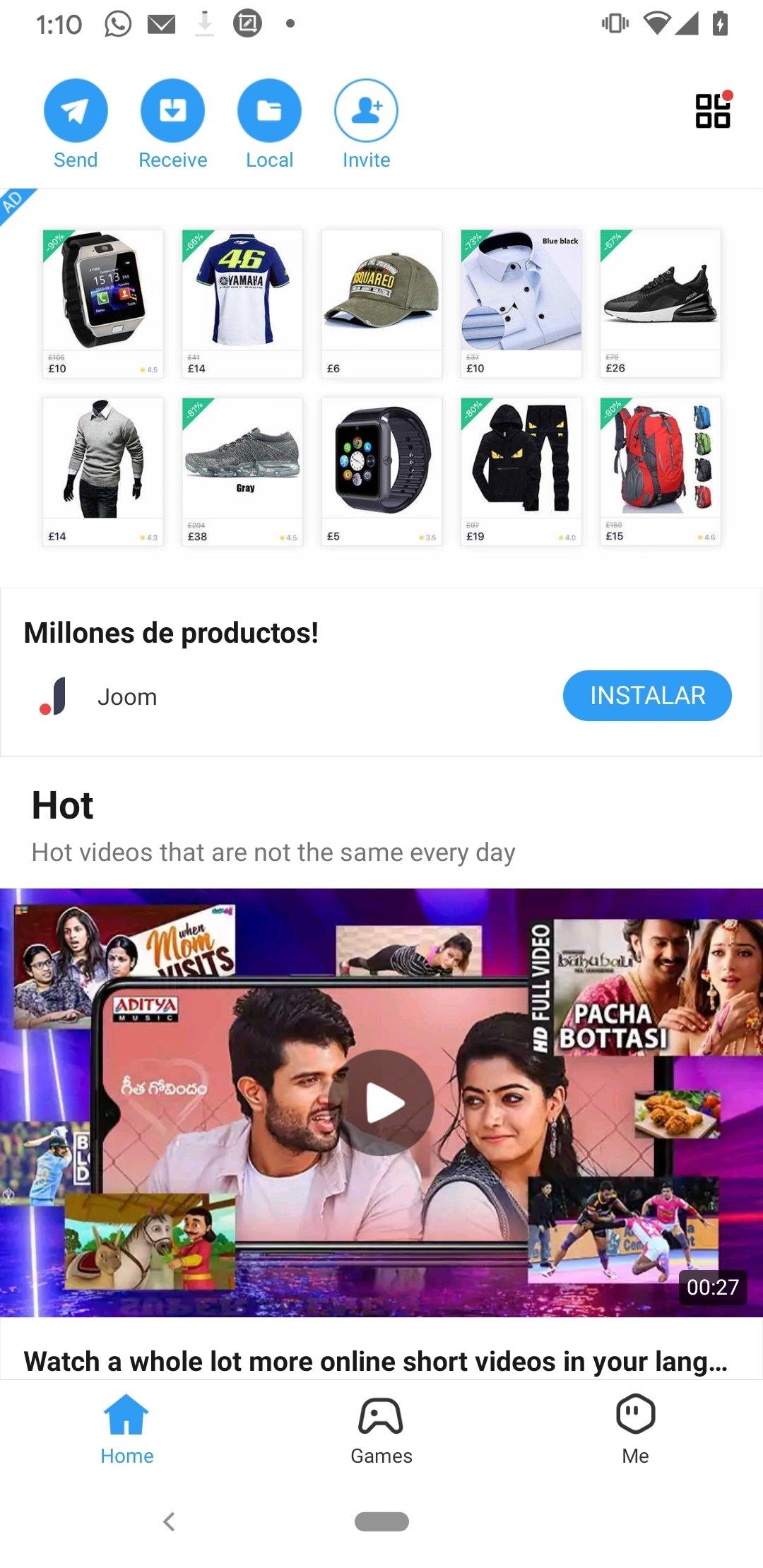 apk file of shareit app
