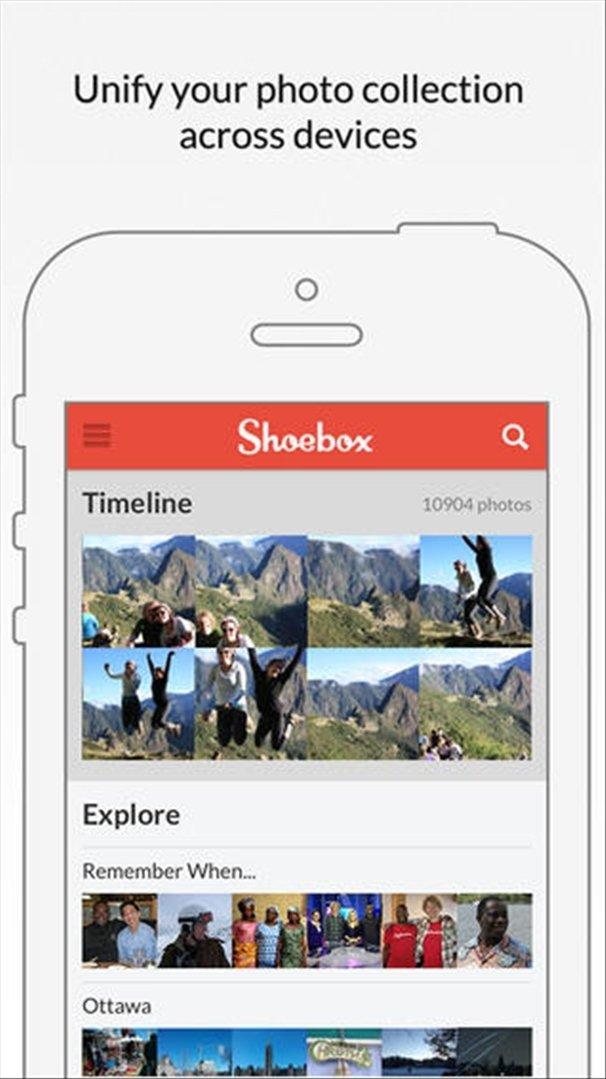 Shoebox iPhone image 5