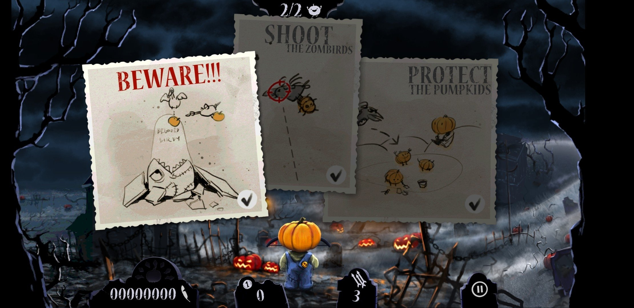 Shoot The Zombirds Apk Mod Hack