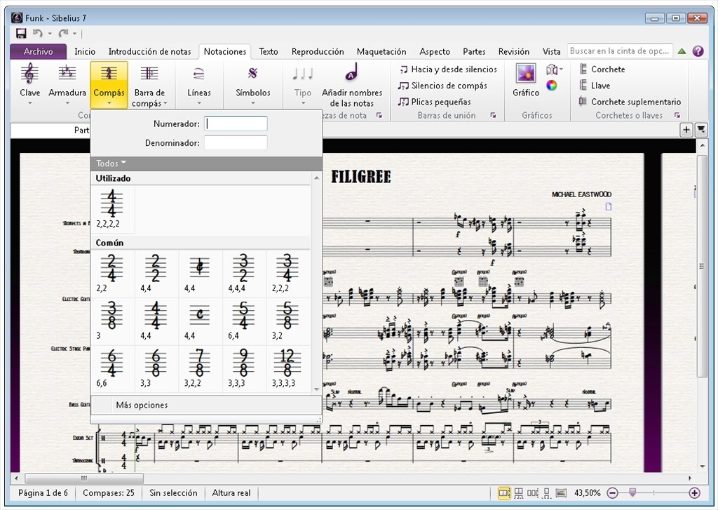 Sibelius 6 free download full version
