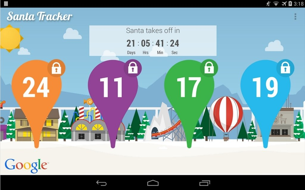 Google Santa Tracker 5 4 2 Download For Android Apk Free