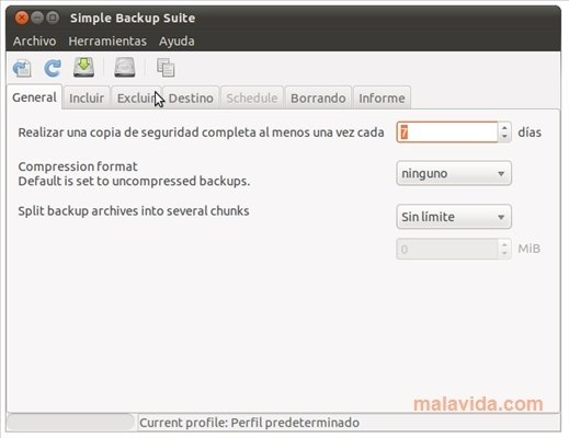 Simple Backup Linux image 4