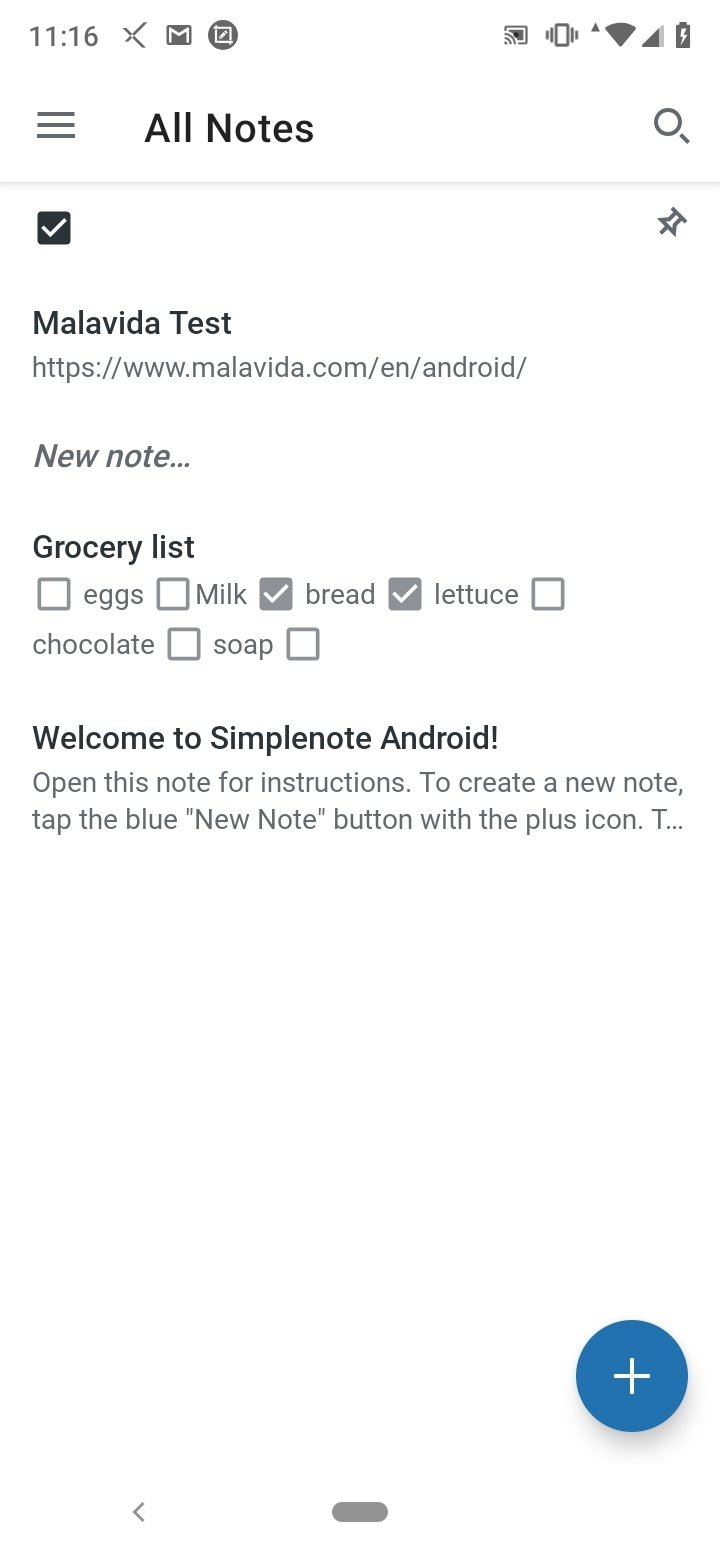 Simplenote Android image 8