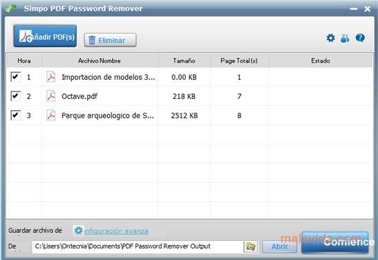 Simpo PDF Password Remover image 4