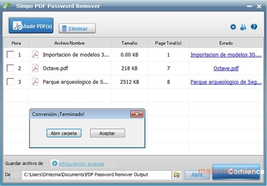 Simpo Pdf Password Remover