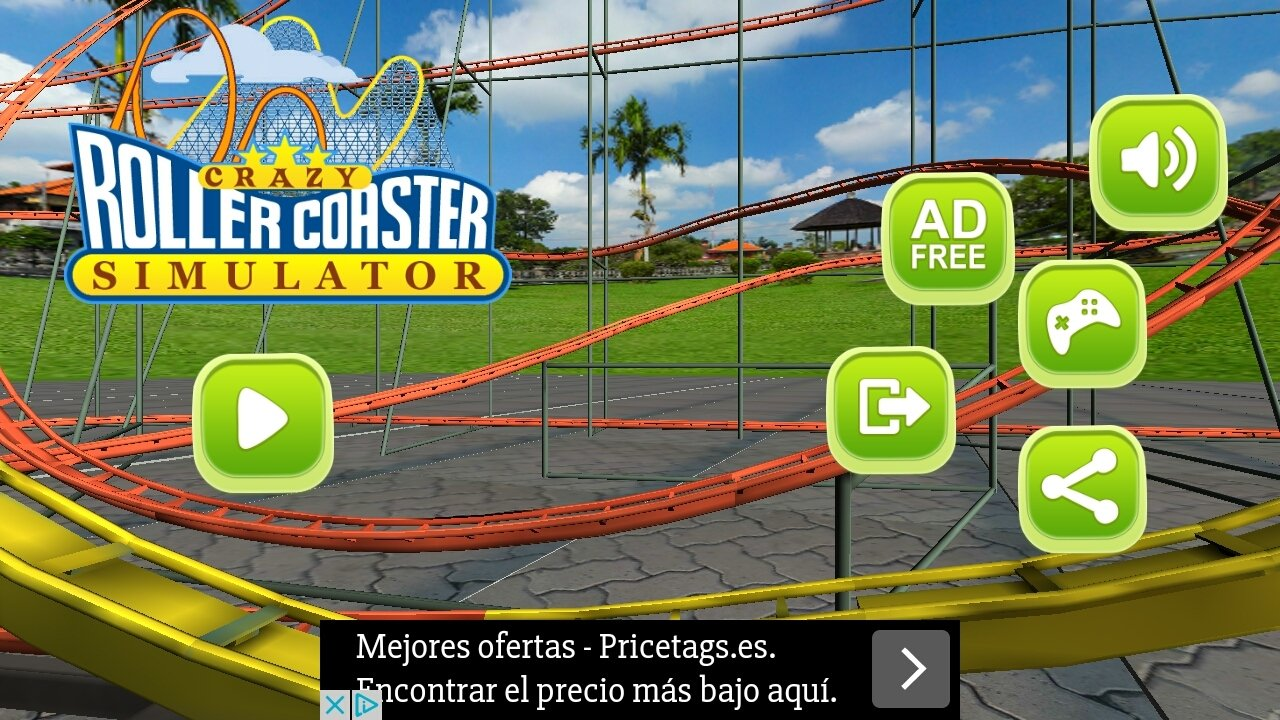 Crazy Rollercoaster Simulator Android image 6